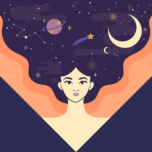 mixkit-powerful-woman-with-the-moon-star