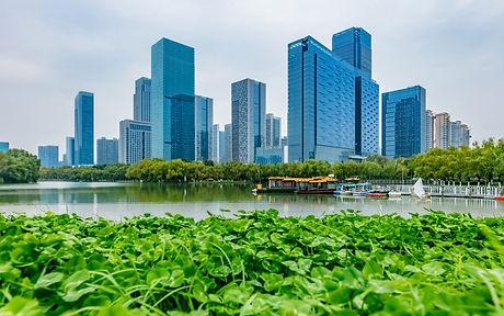 Hefei-City-Anhui-Province-Swan-Lake-Fina