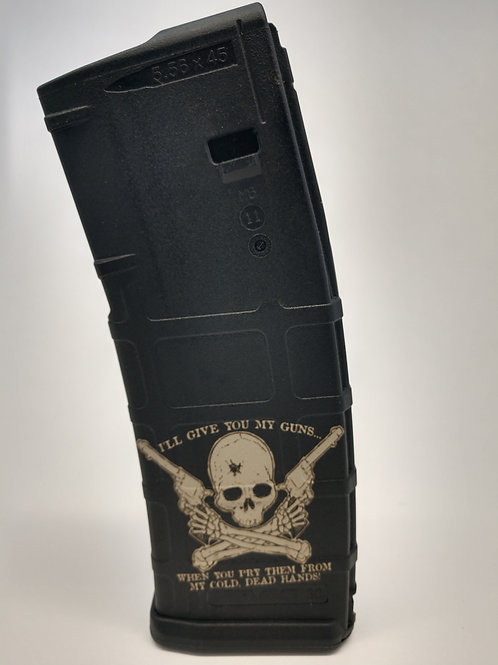 Laser Engraved P-Mag Cold Dead Hands