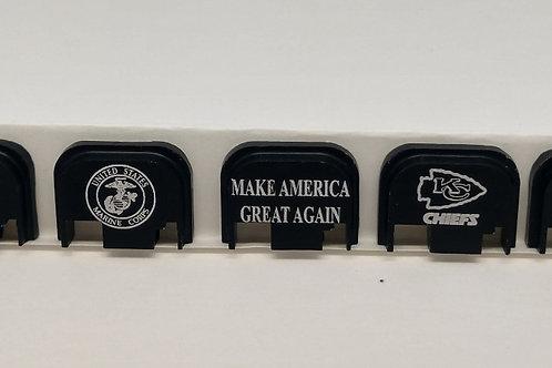 Glock Slide Rear Back Plate Cover