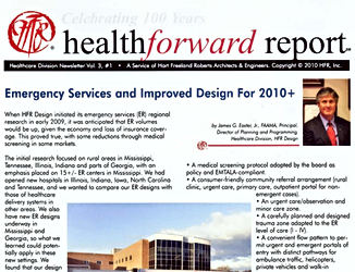 Health Forward Report - Innovative Inpatient Planning