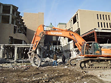 Demolition and Site Improvements Left Useable Land for Future Development and Healthy Neighborhoods.