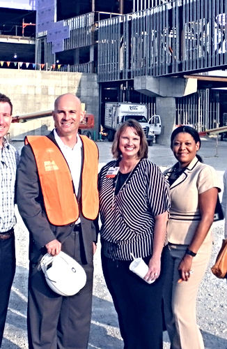Our First Leadership Tour of the New Cancer Center at CHN North Campus