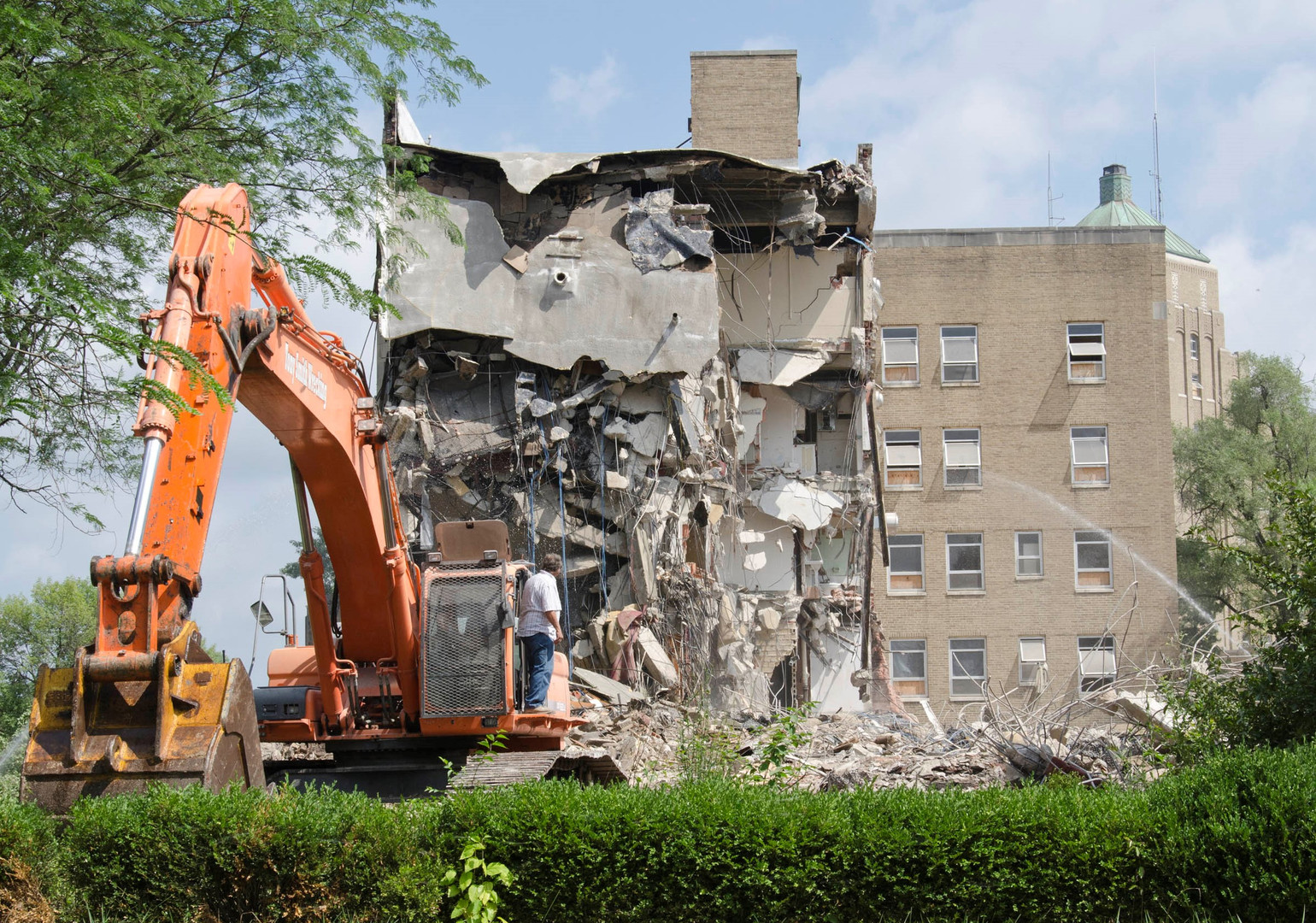 Demolition of The Mercy System Facilities in Springfield, OH