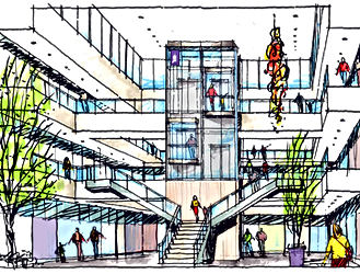 Conceptual Design for Future Cancer Center