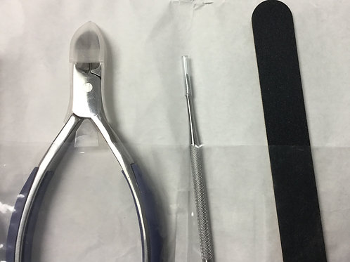 Disposable Sterilized Sealed Professional Manicure Set