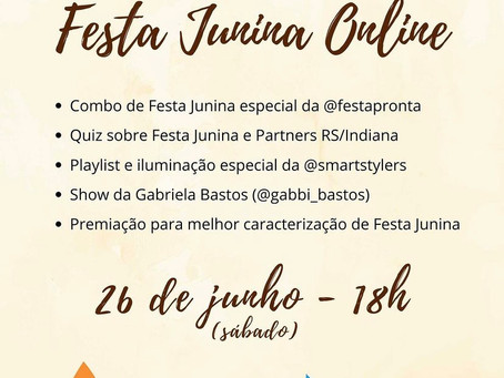 RS Partners Partying Online for Festa Junina