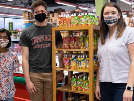 Student-led Food Security Program at IU Receives Grant