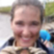 Virginia Schutte researching salt marsh crabs in Taiwan