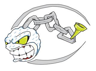 Mascot logo for ML