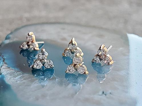 Anatometal Mini Trio 3 Stone