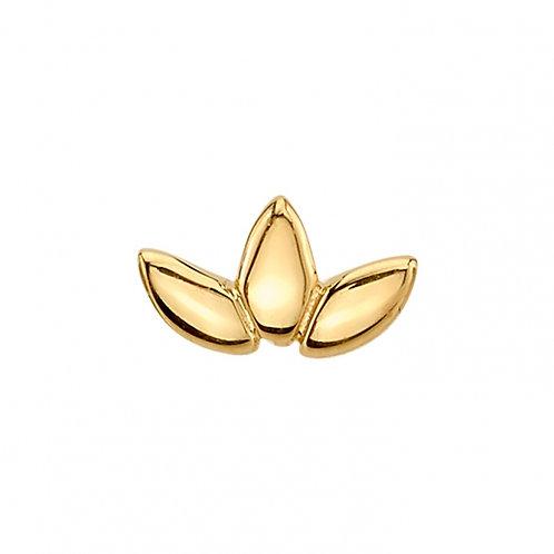 Bvla Flat Gold Marquise Fan