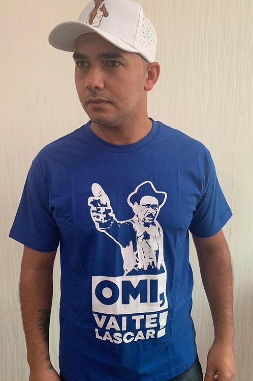 "Camisa azul - ""Omi, vai te lascar"""