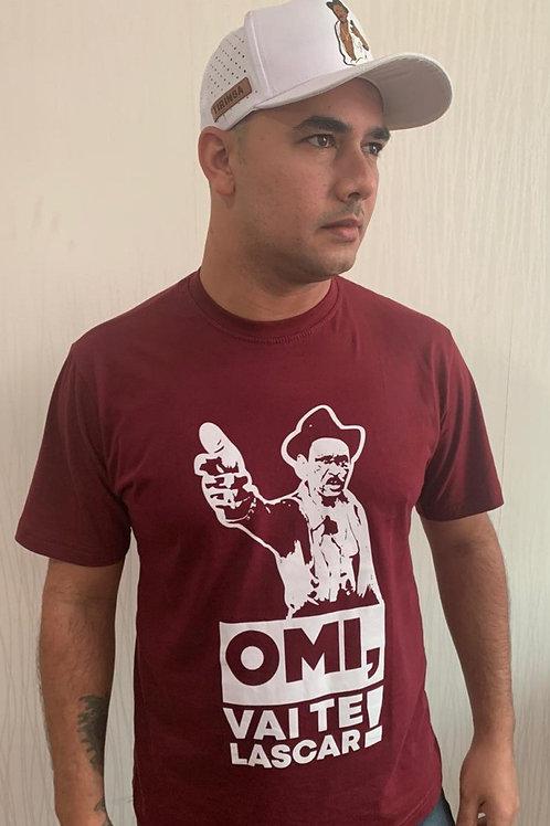"Camisa vermelha - ""Omi, vai te lascar"""