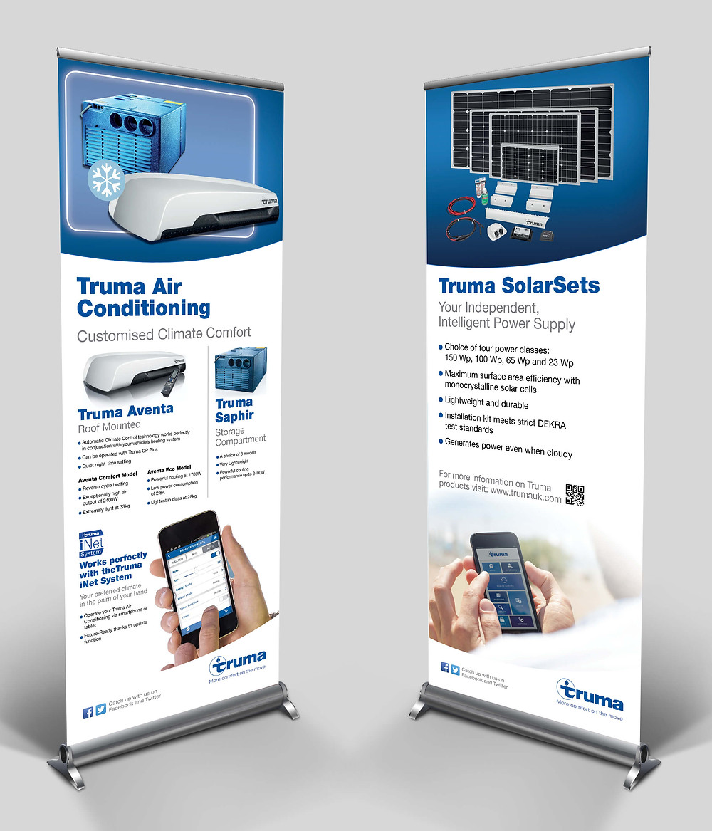 Truma Products Roller Banner Sets
