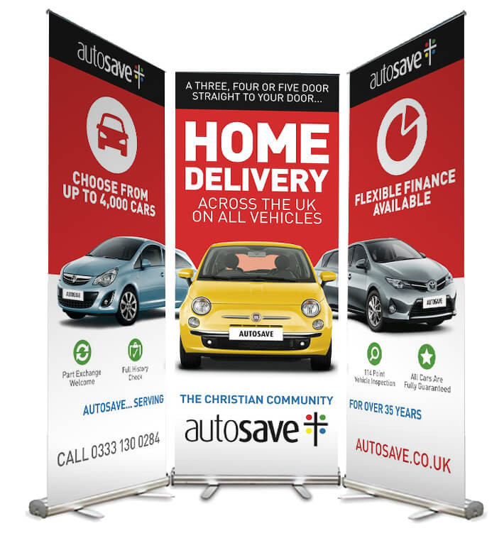 Autosave Pull Up Banners