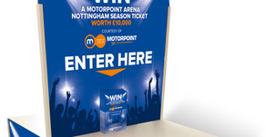 Win Arena Tickets Competition Entry Booths