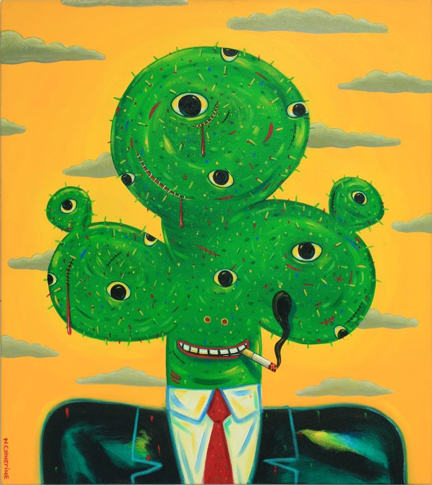 OC/191: Cactus Head