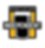 Indie Beer Logo colour black background-