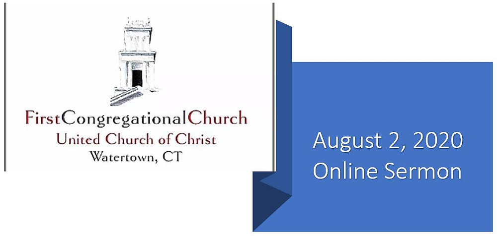 August 2nd Online sermon