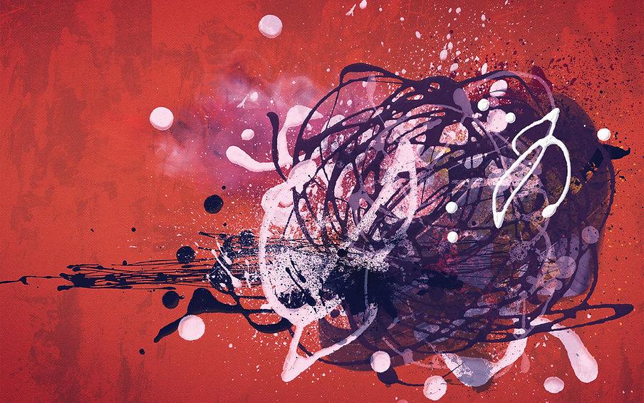 Abstract Bird's Nest