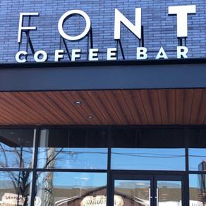 #FeatureFriday- Font Coffee Bar