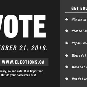 Go vote, like a champ!