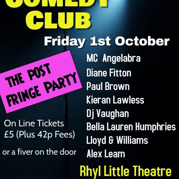 Rhyl Comedy Club