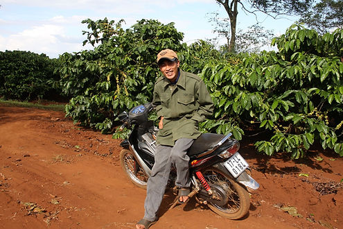 Dak Lak Coffee farmer