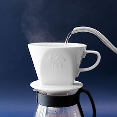 How to prepare pour over coffee step 2