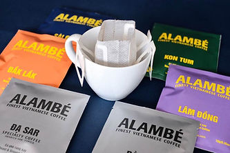 Alambe single-serve sachets