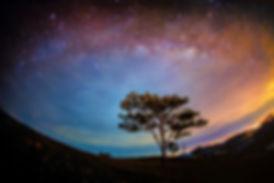 Lam Dong purple sunset sky