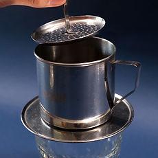 How to prepare Vietnamese coffee step 2
