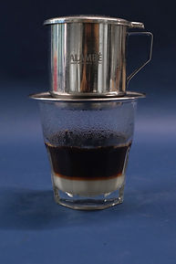 How to prepare Vietnamese coffee step 3