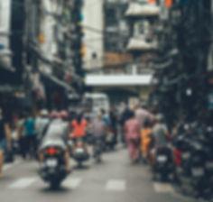 Saigon alley street