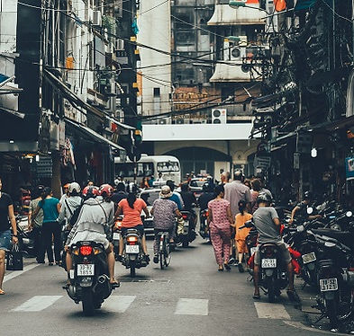 Saigon alley street