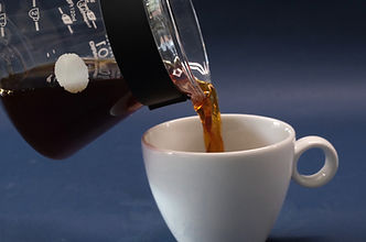 How to prepare pour over coffee step 3