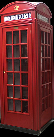 Cabina telefonica inglese in legno su misura for Mobili in inglese