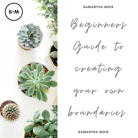 Beginners Guide to creating your boundar