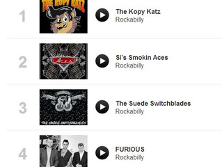 #1 on UK Rockabilly Charts