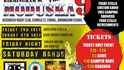 LIVE 03 July @ Moduska Festival, Birmingham