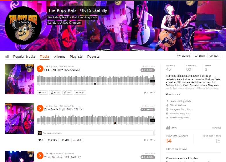 The Kopy Katz on Soundcloud
