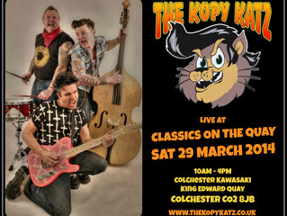 The Kopy Katz Live At Classics On The Quay Colchester 29/03/14