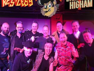 Restless + Darrel Higham + The Kopy Katz live at The 100 Club, London