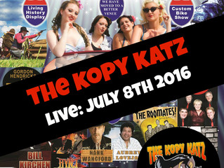 Americana Festival Book The Kopy Katz