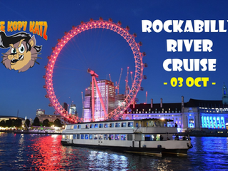 Join us on a London rockabilly river cruise