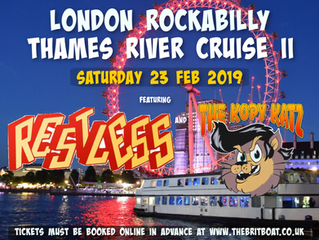 Restless & The Kopy Katz Thames Cruise 2019