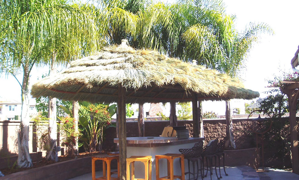 11'X22' FIJI OVAL CANCUN HUT-2 POLE