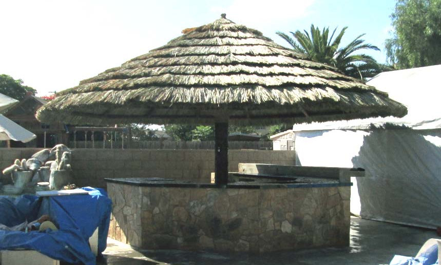 FREE INSTALL IN SD OR $200 OFF KIT - 8' TO 12' FIJI THATCH UMBRELLA