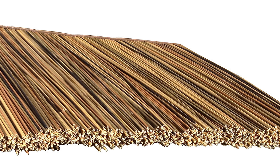 "SYNTHETIC AFRICAN REED TILES – 31""L x 18.5""H 10 SF"